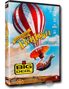 Five Weeks in a Balloon - Peter Lorre, Red Buttons - DVD (1962)