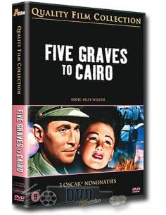 Five Graves to Cairo - Anne Baxter - Billy Wilder - DVD (1943)