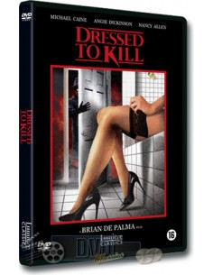 Dressed to Kill - Angie Dickinson - Brian De Palma - DVD (1980)