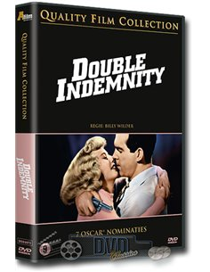 Double Indemnity - Fred MacMurray, Barbara Stanwyck - DVD (1944)