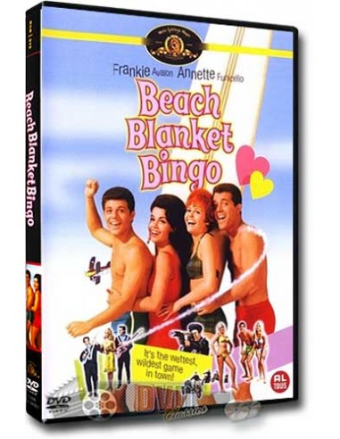 Beach Blanket Bingo - Frankie Avalon - William Asher - DVD (1965)