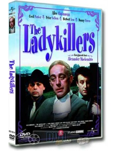 The Ladykillers - Alec Guiness, Peter Sellers - DVD (1955)