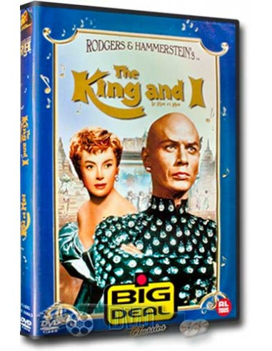 The King and I - Yul Brynner, Deborah Kerr - DVD (1956)