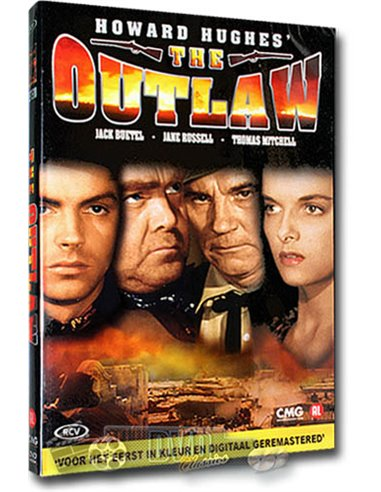The Outlaw - Jane Russell - Howard Hughes - DVD (1943)