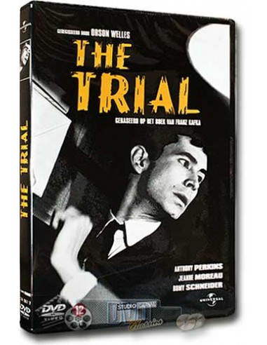 The Trial - Anthony Perkins, Jeanne Moreau - Orson Welles - DVD (1962)