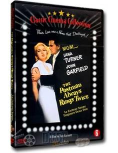 The Postman Always Rings Twice - Lana Turner - DVD (1946)