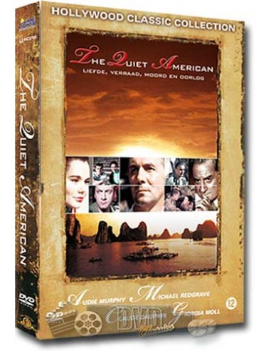 The Quiet American - Audie Murphy, Bruce Cabot - DVD (1958)