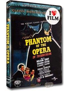 The Phantom of the Opera - Gadton Leroux - DVD (1943)