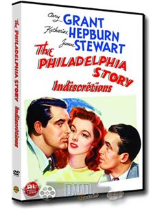 The Philadelphia Story - Katharine Hepburn, James Stewart - DVD (1940)