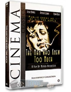 The Man Who Knew Too Much - Peter Lorre - Hitchcock - DVD (1934)