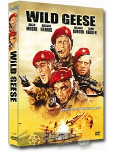 The Wild Geese - Roger Moore, Richard Burton - DVD (1978)
