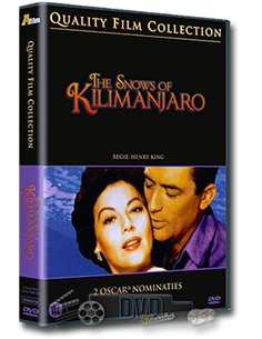 The Snows of Kilimanjaro - Ava Gardner, Gregory Peck - DVD (1952)