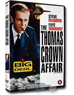The Thomas Crown Affair - Steve McQueen, Faye Dunnaway - DVD (1968)