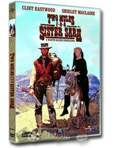 Two Mules for Sister Sarah - Clint Eastwood - DVD (1969)