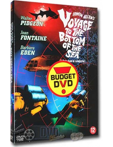 Voyage to the Bottom of the Sea - Walter Pidgeon - DVD (1961)