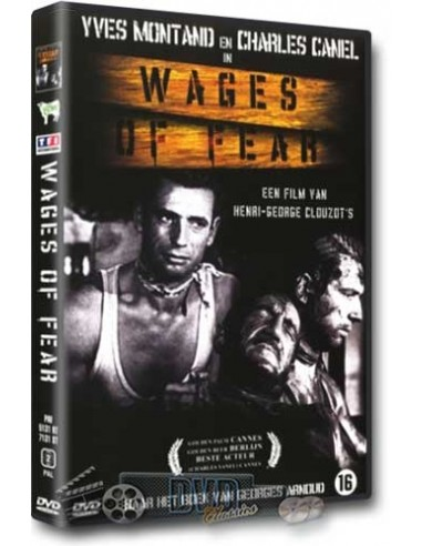 Wages of Fear - Yves Montand, Charles Vanel - DVD (1953)