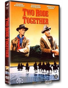 Two Rode Together - James Stewart, Richard Widmark, Shirley Jones - DVD (1961)