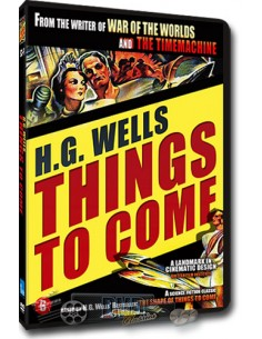 Things to Come - H.G. Wells - William Cameron Menzies - DVD (1936)
