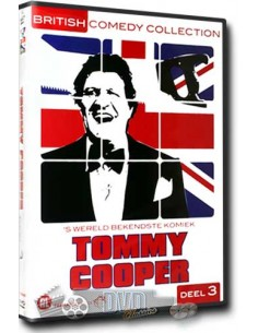 Tommy Cooper deel 3 - Britisch Comedy Collection (2DVD)