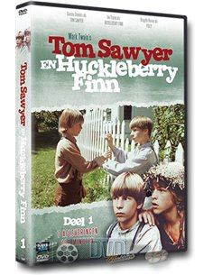 Tom Sawyer en Huckleberry Finn - Deel 1 - DVD (1979)