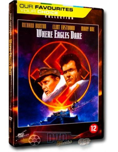Where Eagles Dare - Clint Eastwood, Richard Burton - DVD (1968)