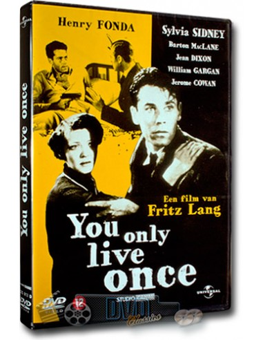 You Only Live Once - Henry Fonda - Fritz Lang - DVD (1937)