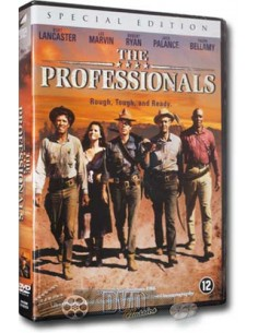 The Professionals - Burt Lancaster, Lee Marvin, Robert Ryan - DVD (1966)