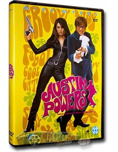 Austin Powers - Mike Meyers, Elizabeth Hurley - DVD (1997)