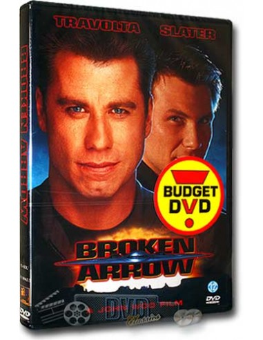Broken Arrow - John Travolta, Christian Slater - DVD (1996)