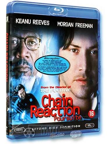 Chain Reaction - Morgan Freeman, Keanu Reeves - Blu-Ray (1996)