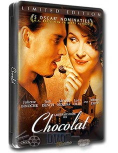 Chocolat - Johnny Depp, Judi Dench - DVD (2000) Steelbook