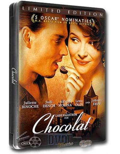 Chocolat - Johnny Depp, Judi Dench - DVD (2000) Steelbook