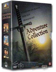 Adventure Collection - Mel Gibson, Michael Caton-Jones - 3DVD (2008)
