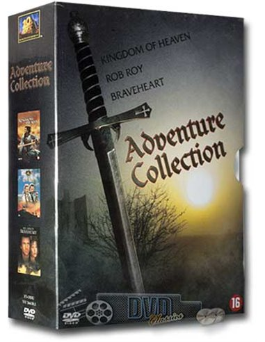 Adventure Collection - Mel Gibson, Michael Caton-Jones - 3DVD (2008)