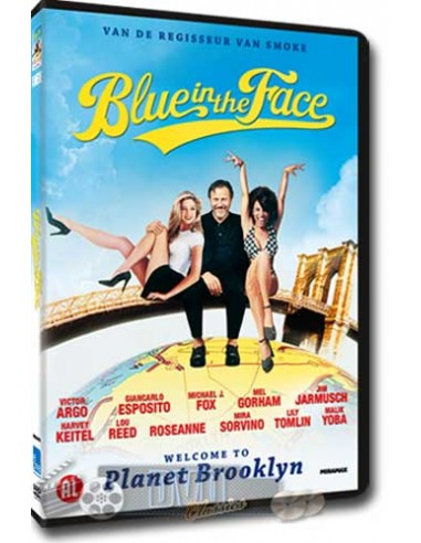 Blue in the Face - Michael J. Fox, Harvey Keitel - DVD (1995)