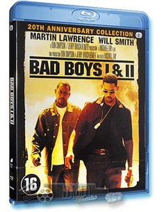 Bad Boys 1 & 2 - Martin Lawrence, Will Smith - Blu-Ray (2013)