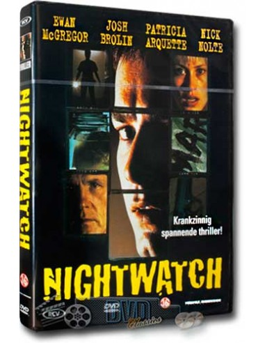 Nightwatch - Ewan McGregor, Josh Brolin, Nick Nolte - DVD (1997)