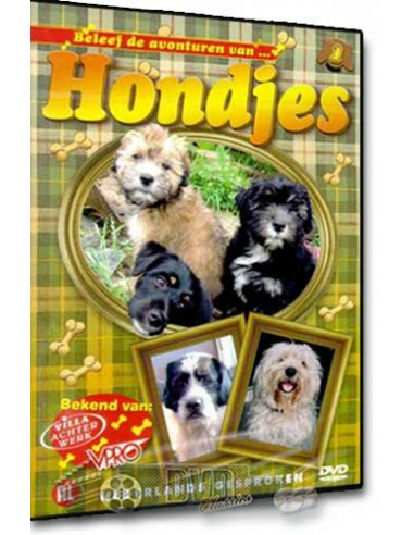 Hondjes 1 - Gijs, Timo, Lola, Bram, Ponna - DVD (2005)