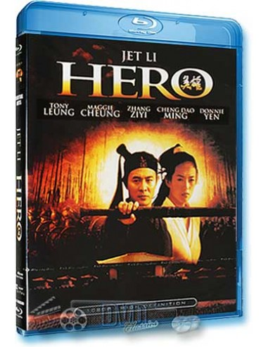 Hero - Jet Li, Daoming Chen, Donnie Yen - Blu-Ray (2002)