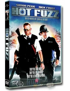 Hot Fuzz - Simon Pegg, Martin Freeman, Nick Frost - DVD (2007)