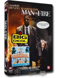 Man on Fire - Denzel Washington, Dakota Fanning - DVD (2004)
