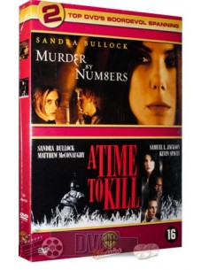 Murder By Numbers / A Time To Kill - Sandra Bullock - DVD (2002)