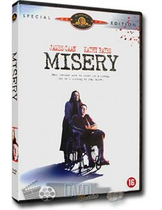 Misery - James Caan, Kathy Bates - Rob Reiner - DVD (1990)