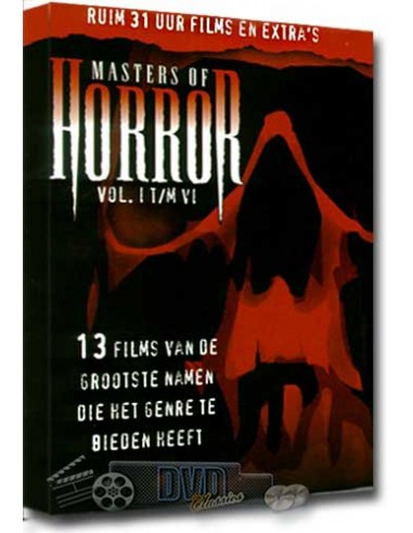 Masters of Horror 1-6 - 31 uur film - [6DVD] - DVD (2005)