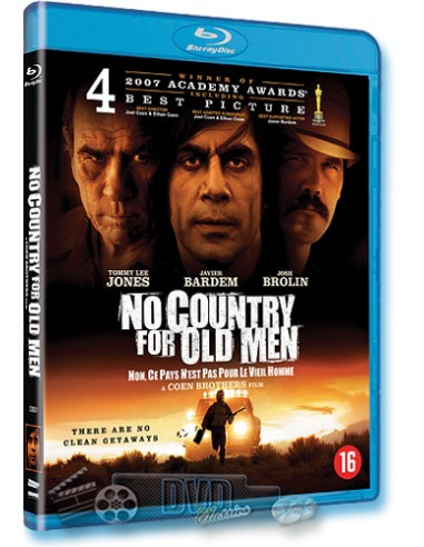 No Country for Old Men - Joel Coen, Ethan Coen - Blu-Ray (2007)