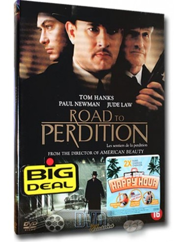 Road to Perdition - Tom Hanks, Paul Newman - DVD (2002)