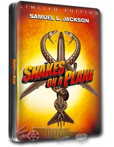 Snakes on a Plane - Samuel L. Jackson - DVD (2006) Steelbook