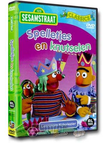 Sesamstraat - Spelletjes en knutselen - DVD (2008)