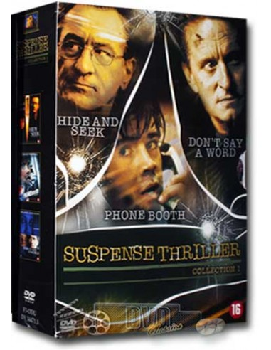 Suspense Thriller Collection 1 [3DVD] - DVD (2006)