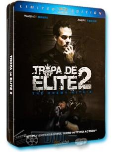 Tropa de Elite 2 - José Padilha - Blu-Ray (2011) Steelbook